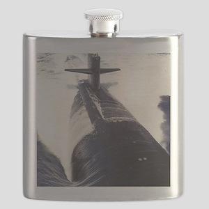 pittsburgh framed panel print Flask