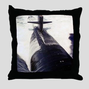 pittsburgh framed panel print Throw Pillow