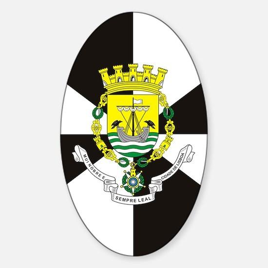 Lisbon (nexus s) Sticker (Oval)