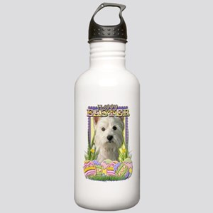 EasterEggCookiesWestHi Stainless Water Bottle 1.0L