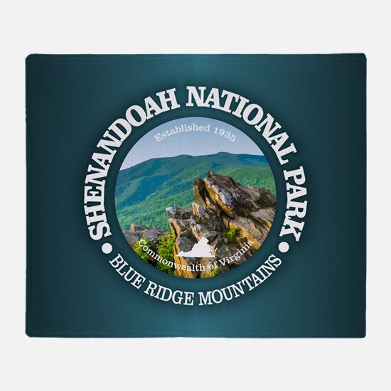Shenandoah National Park Throw Blanket