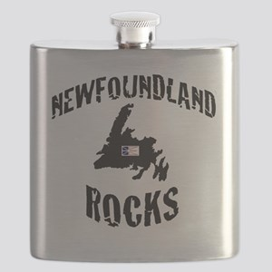 NEWFOUNDLAND ROCKS Flask