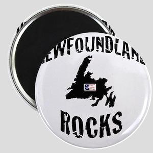 NEWFOUNDLAND ROCKS Magnet