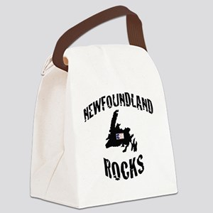 NEWFOUNDLAND ROCKS Canvas Lunch Bag