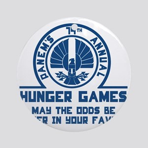 Hunger Games Round Ornament