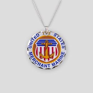 USMM Necklace Circle Charm