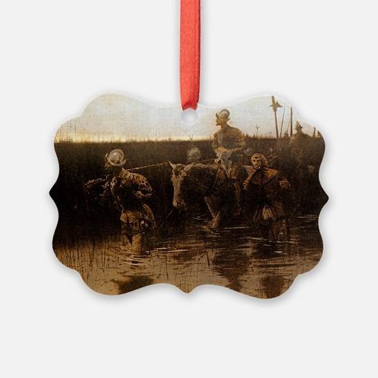 Hernando De Soto, 1905 Ornament