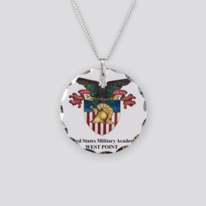 USMA 2 Necklace Circle Charm