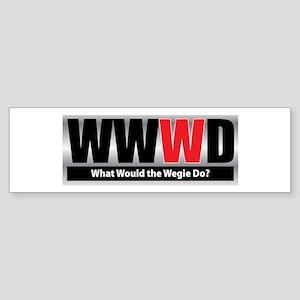 What Wegie Bumper Sticker