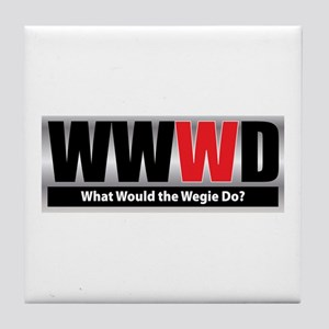 What Wegie Tile Coaster