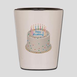 Happy Birthday Cake Shot Glass