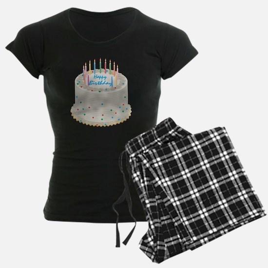 Happy Birthday Cake Pajamas