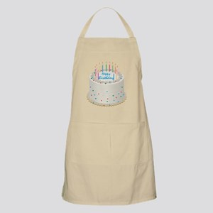 Happy Birthday Cake Apron