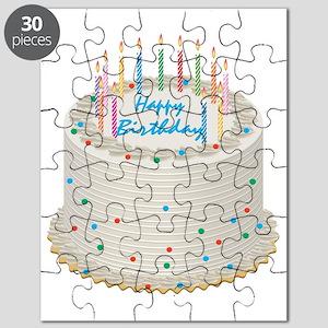 Happy Birthday Cake Puzzle