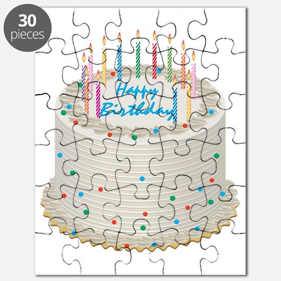 Happy Birthday Cake Puzzle