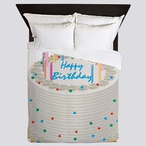 Happy Birthday Cake Queen Duvet