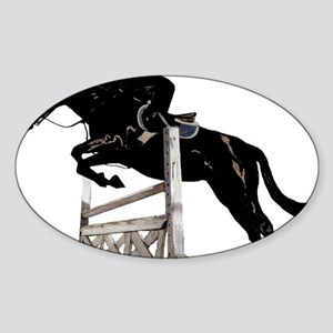 jumper3trans Sticker (Oval)