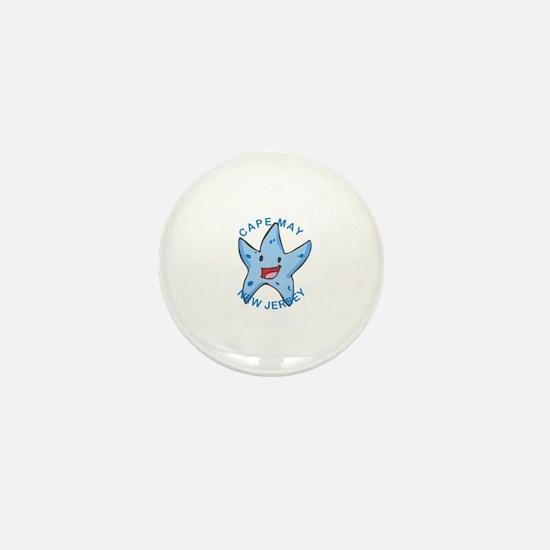 Funny Jersey city Mini Button