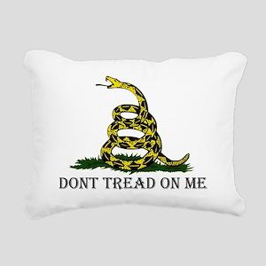 DONT TREAD ON ME Light A Rectangular Canvas Pillow