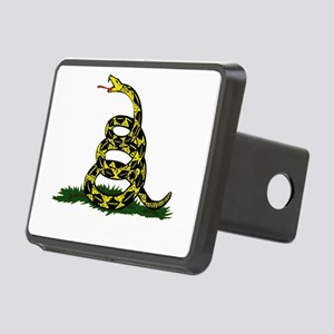 DONT TREAD ON ME Dark Appa Rectangular Hitch Cover