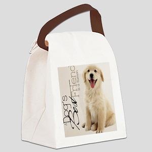 goldi_11x11_pillow_hell Canvas Lunch Bag