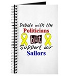 Debate Politicians Support our Sailors Journal