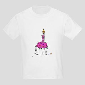 Rainbow Sprinkles Pink Kids T-Shirt