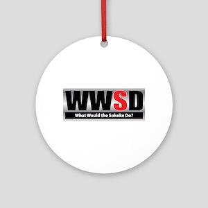 What Sokoke Ornament (Round)