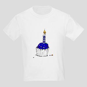 Rainbow Sprinkles Blue Kids T-Shirt