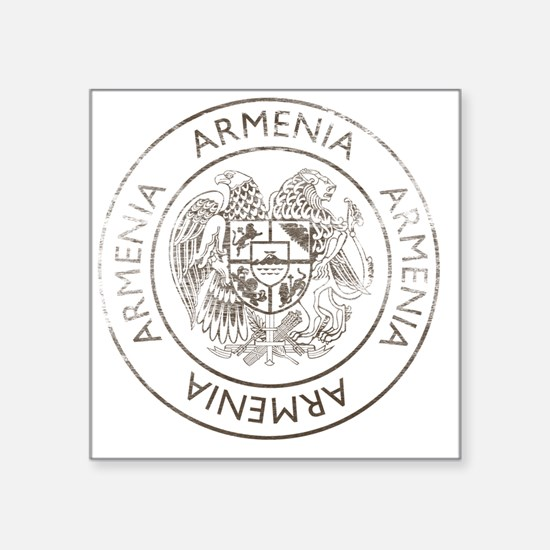 "armenia13 Square Sticker 3"" x 3"""