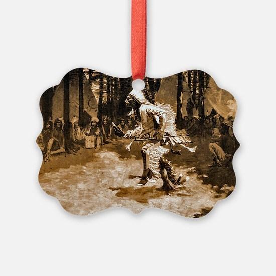 Hiawathas Wedding Feast, 1890 Ornament