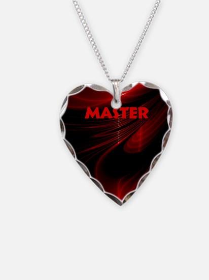 bondage black and red Master Necklace