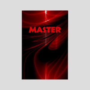 bondage black and red Master Rectangle Magnet