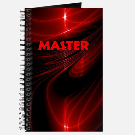 bondage black and red Master Journal