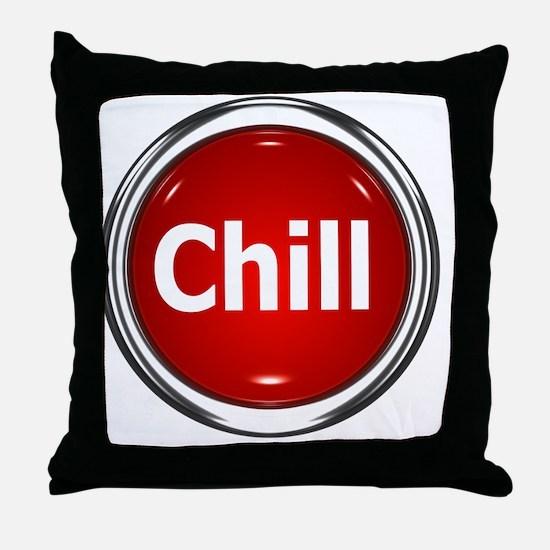 z-button-chill Throw Pillow