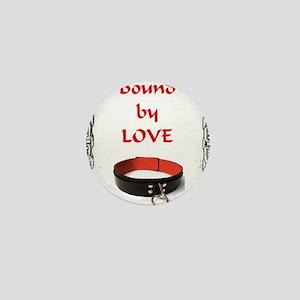 bondage bound by love Mini Button