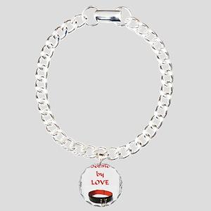 bondage bound by love Charm Bracelet, One Charm
