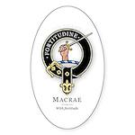 Clan MacRae Oval Sticker