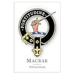 Clan MacRae Large Poster