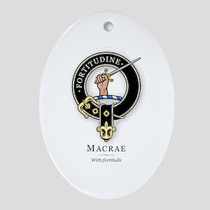 Clan MacRae Oval Ornament