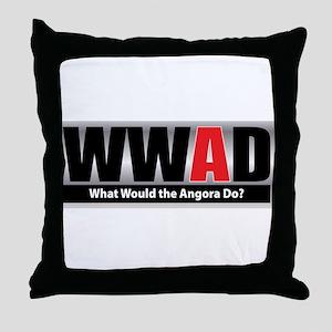 What Angora Throw Pillow