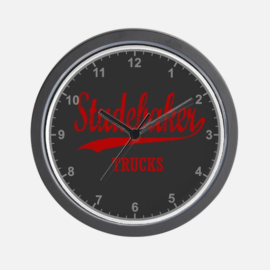 Stdbaker_Truck_Clock Wall Clock