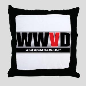 What Van Throw Pillow