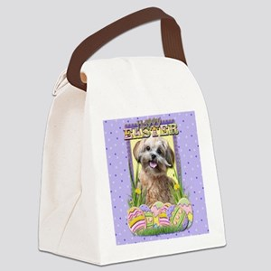 EasterEggCookiesShihPooCP Canvas Lunch Bag