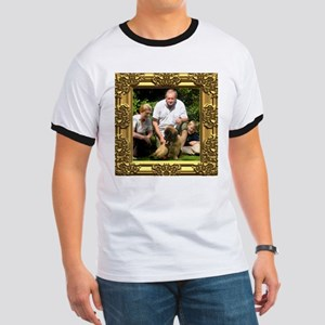 Custom gold baroque framed photo Ringer T