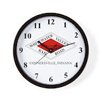 WVRR Herald Wall Clock