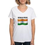 kERALA pRIDE Women's V-Neck T-Shirt
