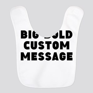 Big Bold Custom Message Bib