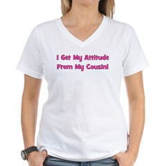 Attitude From Cousin - Pink Shirt