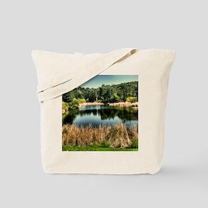 5.25X5.25-Landscape-Andy-Griffith-Show-La Tote Bag